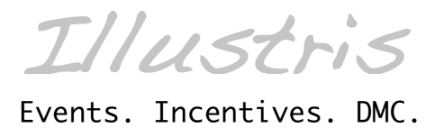 ILLUSTRIS EVENTS - INCENTIVES - DMC Image